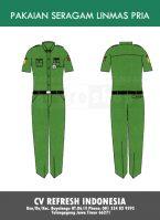 Baju Seragam Linmas BSL40 Lembut Nyaman