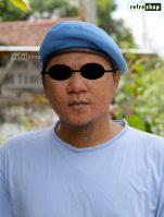 Baret Biru Muda TNI Polisi Militer Provost Paspampres Lembut Nyaman BRBM4