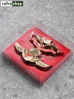 Brevet Wing Polri Tumpuk Susun Selam Mirror BSLPO8001TUMRHM Mewah Elegan Awet Kuat