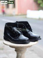 Sepatu PDH TNI Polri SPDH0304CB Warna Hitam Kuat Awet Bahan Berkualitas