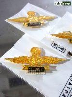Wing Security Untuk Satpam Lencana Pin Artistik Dan Berkualitas WSC4001HM