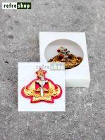 Pin Catakarya Kuningan Dasar Akrilik Kokoh Mewah Elegan PCT5001AKGG