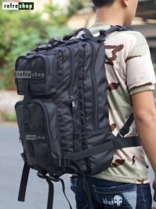 Tas Stylish Multifungsi Awet Ransel Tactical Army PX342