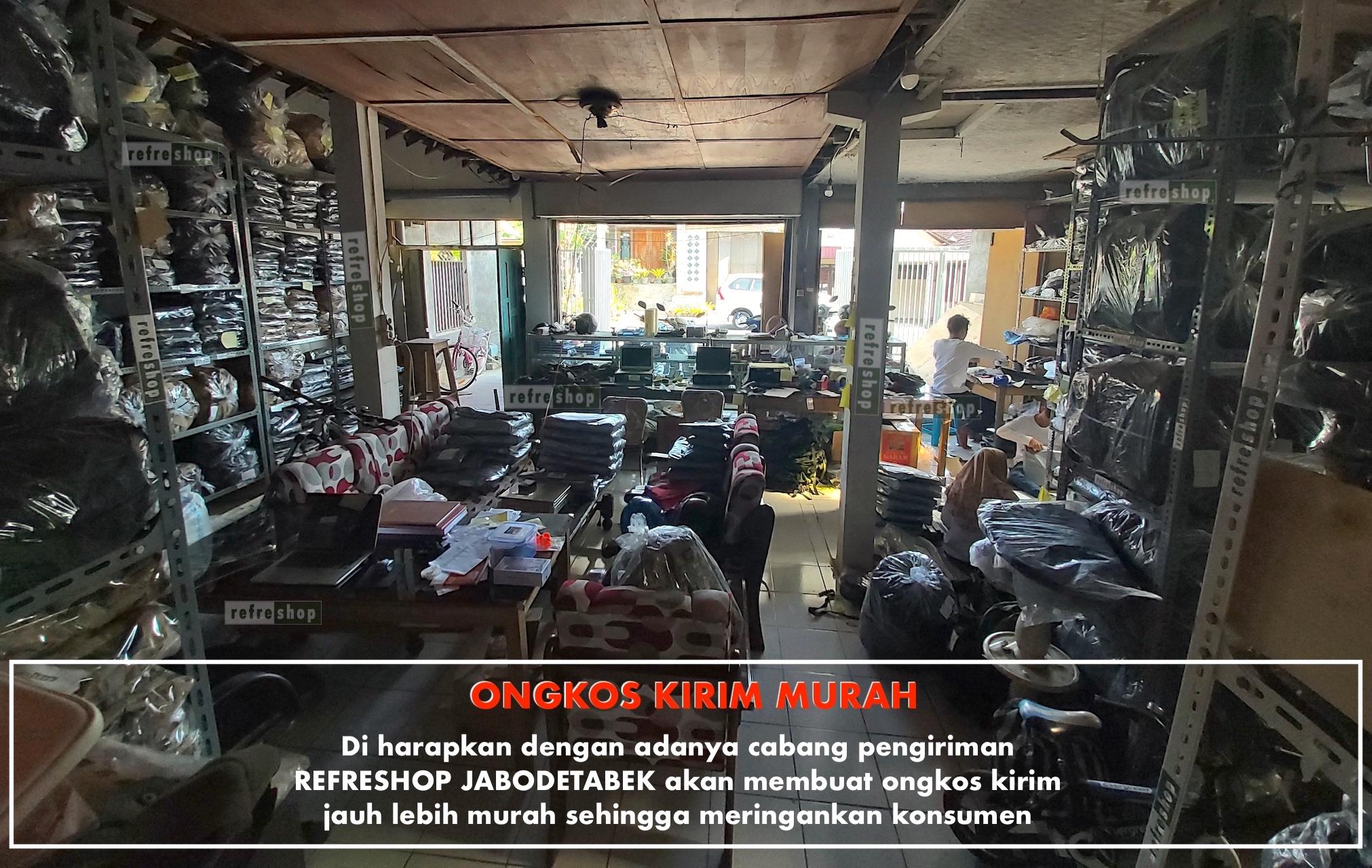 Selain itu, Refreshop Tulungagung Membuka Cabang Jabodetabek Agar Ongkos Kirim Ke Area Jakarta, Depok, Tangerang, Bogor, Bekasi dan sekitarnya bisa lebih murah