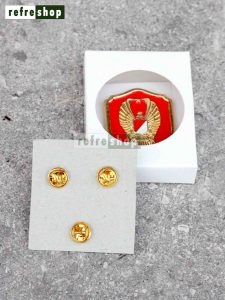 Emblem Baret TNI AD Kartika Eka Paksi Kokoh Dan Mewah EBKP5001GG
