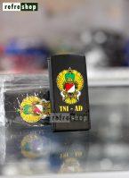 Gantungan Kunci Dompet STNK Logo TNI AD Elegan GKC0302CH