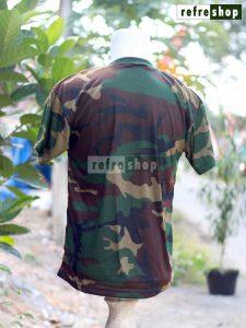 Kaos Militer Army Tentara TNI Lembut Dan Nyaman KLH3