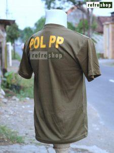 Kaos Satpol PP KPPE0205DD Bahan Berkualitas Nyaman Adem Lembut