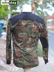 Kaos Tactical Army Loreng Lembut Nyaman Militer Lengan Panjang KLSCP05DD