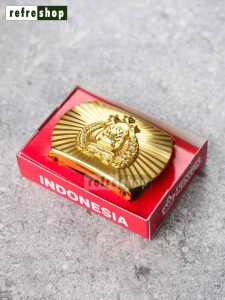 Kepala Sabuk PDH Polisi Elegan Dan Mewah Motif Kuningan IPPO7503HM