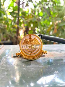 Lencana Kemenhub Sepuh Emas Loind Kuningan PNHB0107LD Mewah Kuat  Tahan Lama