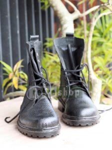 Sepatu PDL Kulit Jeruk TNI Polri Murah Grosir SPDLH03CB