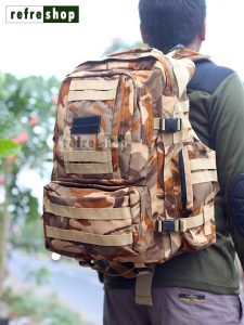Tas Ransel Army PX322LC Nyaman Multifungsi Jahitan Rapi