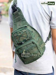 Tas Selempang Dada Tactical Army Militer PX228 Kuat Awet Berkualitas