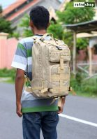 Tas Tactical Army Multifungsi Ransel Militer TNI Polisi Punggung Laptop Kain Waterproof Awet Berkualitas PV342HD