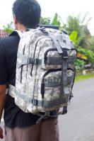 Tas Tactical Ransel Militer Multifungsi PX324D6TP Jahitan Rapi Nyaman Berkualitas