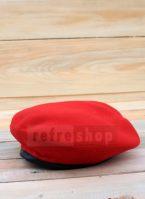 Topi Baret Lembut Dan Nyaman Warna Merah Bisa Dibentuk BRM2