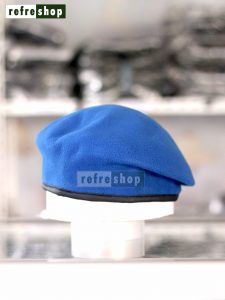 Topi Baret Lembut Nyaman Warna Biru Muda BRBM3 Bisa Dibentuk