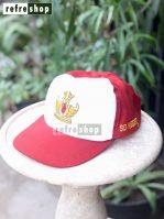 Topi SD Merah Putih TPCD0302NR Jahitan Rapi Kuat Awet Berkualitas