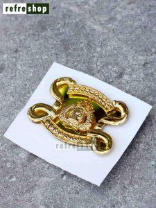 Emblem Baret Polisi Sabhara Mirror EBLSBHNW5001GG Kokoh Mewah Elegan