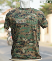 Kaos Army Lembut Nyaman Loreng Digital Marpat Tactical Militer KLMR02DD