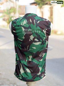 Kaos Army Loreng Lembut Nyaman KLHR2 Adem Murah Grosir Berkualitas