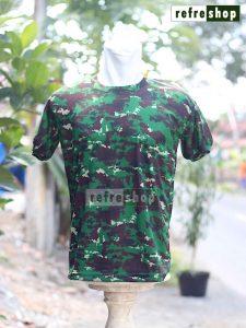 Kaos Loreng Militer Army KLH1 Lembut Nyaman Adem Tahan Lama
