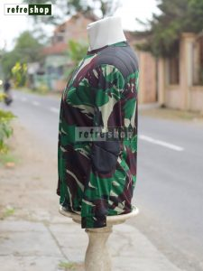 Kaos Militer Loreng Malvinas Lengan Panjang KLMVP04DD Nyaman Lembut Tahan Lama Adem
