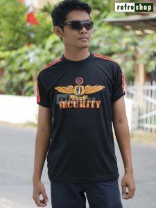 Kaos Security Awet Lembut KSPDH02DD Lengan Pendek Nyaman Grosir Murah