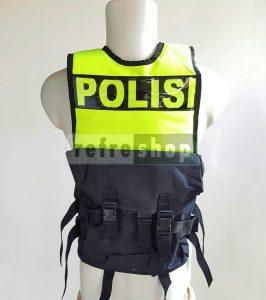 Rompi Polisi RPHS2 Nyaman Kuat Tahan Lama