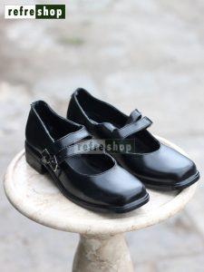 Sepatu Pantofel Wanita Paskibraka Hitam SPFW0304CB Kokoh Kuat Elegan
