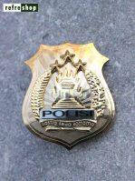 Tanda Kewenangan Polisi KWNP0801GG Elegan Mewah Kokoh Berkualitas