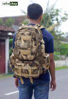 Tas Ransel Army Punggung Tactical Militer PV415HD Multifungsi Kain Waterproof Kuat Awet Tahan Lama