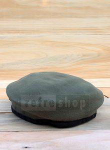Topi Baret Abu-abu Lembut Bisa Dibentuk BRA2