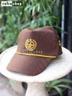 Topi Pramuka Cokelat TPCPR0302NR Nyaman Berkualitas Tahan Lama