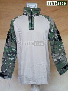 Kaos Tactical Army Nyaman Berkualitas Awet Cotton Ripstop Tebal KTCCRSDD