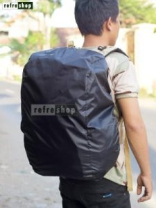 Raincover Bag Waterproof Awet Berkualitas Mantel Tas Tahan Air Hujan RCB02TP