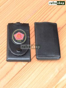 Gantungan Kunci STNK Mewah Elegan Dompet Logo TNI Militer Tentara GKC03022CH Refreshop
