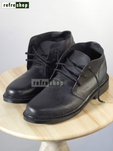 Sepatu Awet PDH Kulit Kuat Pantofel Elegan Hitam Berkualitas Tahan Lama SPDHKH0102 Refreshop