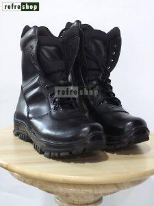 Sepatu PDL Kulit Korea Kuat Awet Berkualitas Tactical Army Militer Tentara TNI SPDL0203KRA Refreshop