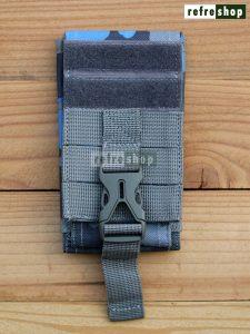Tempat Handphone Dual Slot 5 Dan 4.5 Inchi Dompet Tactical Army Berkualitas Militer PV219HDLR Refreshop