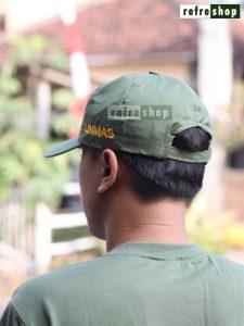 Topi Linmas Awet Nyaman Berkualitas TPLM02DD Refreshop