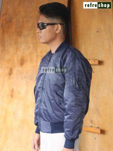 Jaket Kru Pilot Lembut Nyaman Jaket Bomber Tebal JMT6 Awet Berkualitas
