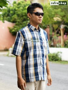 Baju Katun Pria Lembut Adem Nyaman Kemeja Stylist Berkualitas BFP0303YH