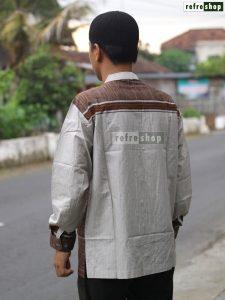 Baju Koko Pria Lengan Panjang Baju Muslim Katun Lembut MFPLP0302YH Baju Taqwa Nyaman Berkualitas