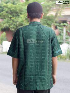 Baju Pria Muslim Nyaman Baju Koko Lengan Pendek Baju Taqwa Katun Lembut Berkualitas MFPB0202YH