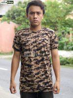 Kaos Army Adem Kaos Tentara Nyaman Kaos Militer Kaos Lengan Pendek Lembut KLPS0203 Kaos Loreng Berkualitas