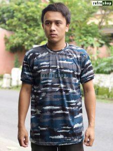 Kaos Militer Adem Kaos Loreng Lembut KLTAL0203 Kaos Army Lengan Pendek Nyaman Berkualitas
