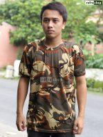Kaos Loreng Nyaman Kaos Militer Kaos Army Lembut Kaos Lengan Pendek Berkualitas KLTG0203