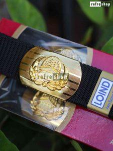 Sabuk Korpri Motif Artistik Ikat Pinggang Loind Mewah IPKKR66011LI Gesper Kuningan Lapis Emas Elegan Berkualitas